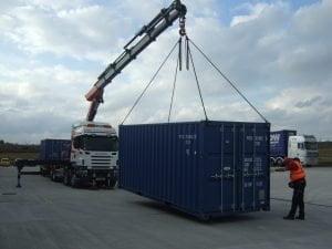 dizalica isporuka kontejnera