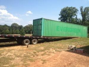 transport kontejnera