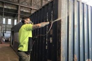 popravka kontejnera