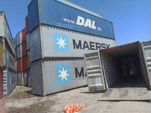 Otvaranje kontejnera na carini i pregled