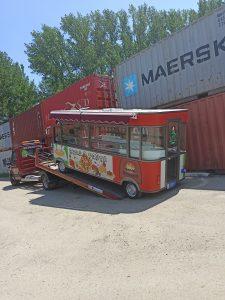 Prevoz eletricnog kamiona za brzu hranu
