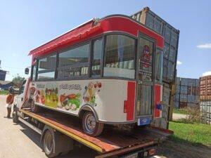 Eletricni kamion za brznu hranu