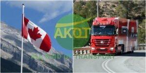 transport robe kanada